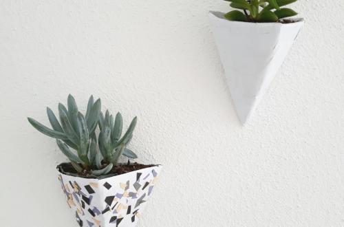 Geometrischen Blumentopf DIY