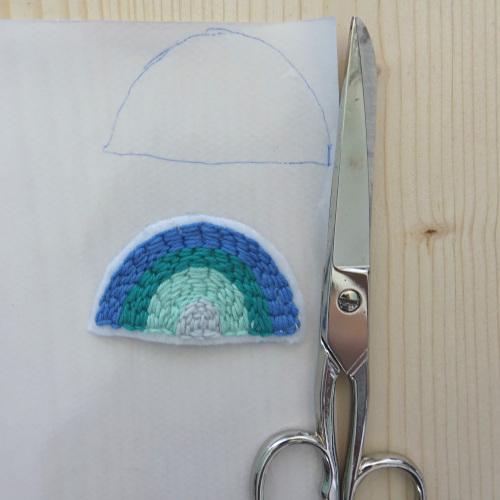 BSN Folie ausschneiden für Stickbild