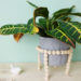 Plantstand aus Holzperlen selbermachen