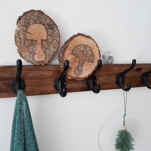 Baumscheiben bemalen