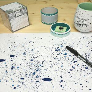 Ideen mit dem Laminiergerät, Schreibtischunterlage