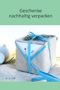 Geschenke verpacken, nachhaltige Ideen