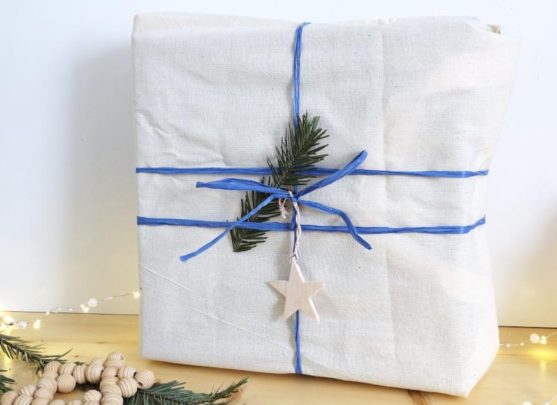 Geschenke nachhaltig verpacken, Weihnachten,Jutebeutel