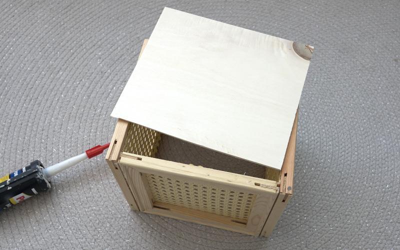 Wiener Geflecht DIY Kallax Box selber bauen