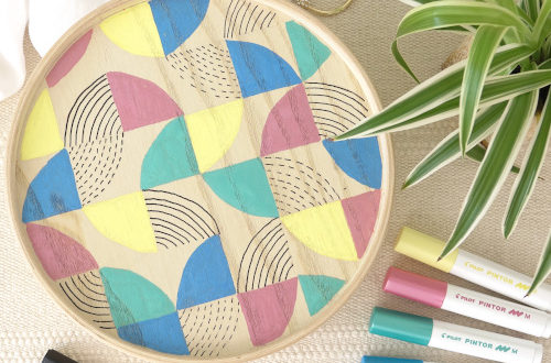 Ikea Hack Mallgroda Dose mit Pintor Stiften bemalen