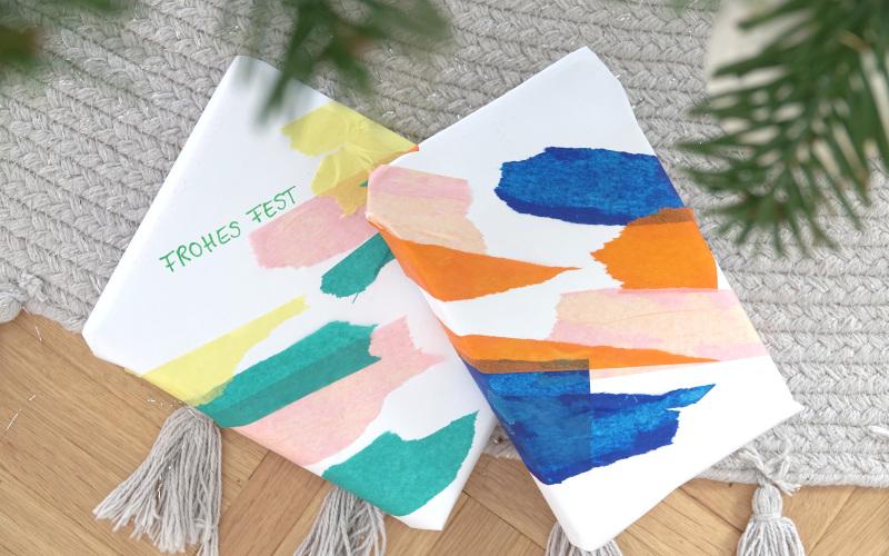 Geschenkpapier selber machen