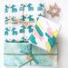 Geschenkpapier selber machen für Weihnachten